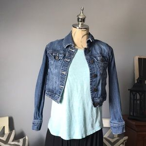 Mossimo Jean Jacket, size- L 10/12